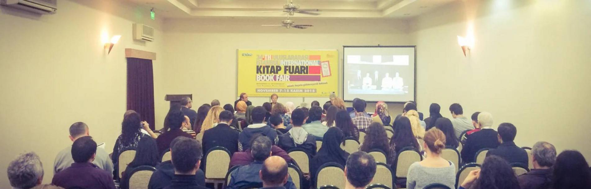 """""""Mehmet Kaplan 100 Yaşında"""" Söyleşisi / 34. İstanbul Tüyap Kitap Fuarı - Dergâh Yayınları"""