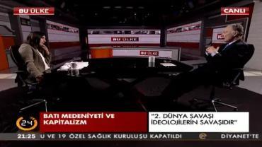 TV 24 - Prof. Dr. Teoman Duralı / Bu Ülke Programı