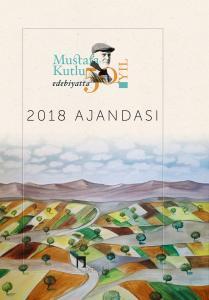 2018 Mustafa Kutlu Ajandası Edebiyatta 50. Yıl